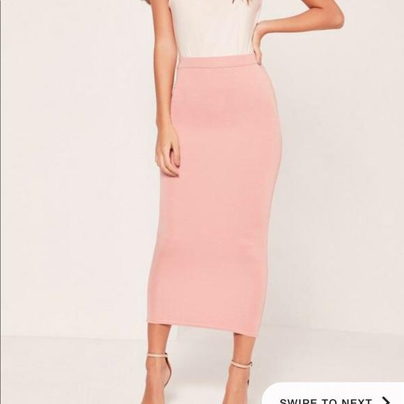 209dc95ea6 ASOS Skirts | Nwt Long Line Pencil Skirt Sz 0 | Poshmark